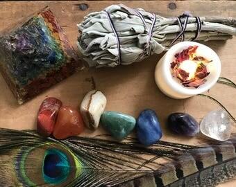 7 Stone Chakra Healing Set // Chakra Balancing Stones // Chakra Stone Set // Chakra Crystal Healing // Reiki Charged // Chakra Stones //