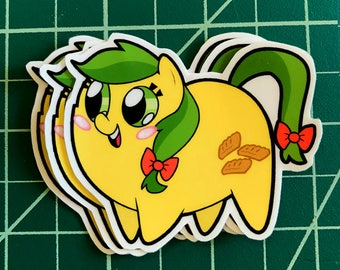 Apple Pony Chubs! Apple Fritter Sticker