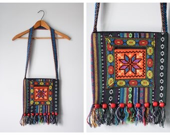 Vintage ethnic embroidered purse