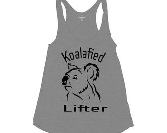 Koalafied Lifter american apparel tank conquer gear
