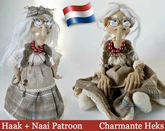081NLY Charmante Heks - Haak patroon PDF file Amigurumi by Astashova Etsy