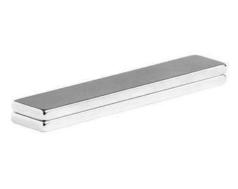 3 x 1/2 x 1/8 Inch Neodymium Rare Earth Bar Magnet N48 (2 Pack)