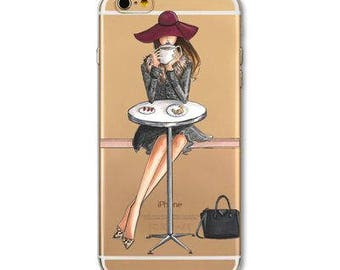 Cell Phone Case Iphone 7  Silicone, transparent, fashion case