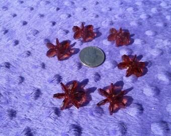 25mm Starflake Beads