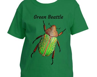 Green Beetle - Youth T-Shirt