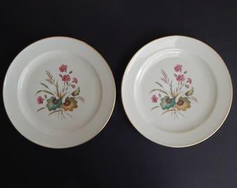 "Set of 2 Rosenthal Kronach Germany Waltraud Plates 9.5"""
