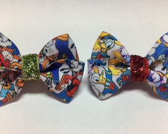 Goofy Donald Duck Magic Band Bow Party Gift