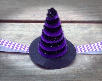 witch hat/halloween/holiday/costume/headband/girls/baby/accessories