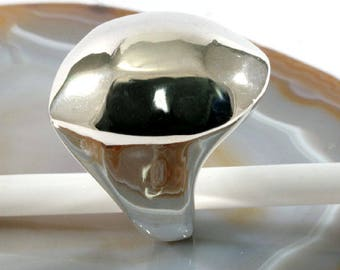 Ring, 925 sterling silver, electroforming - 3009