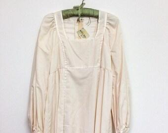 Vintage Wedding Dress, Bridal Dress, 1970s Dress, Boho Wedding Dress, 70s Bridal Dress, S