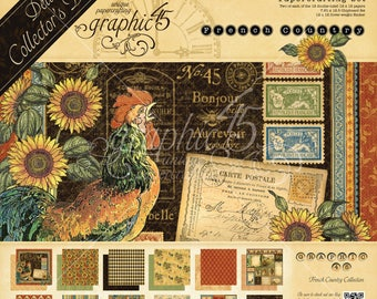 Graphic 45 French Country Deluxe Collector's Edition, SC007732