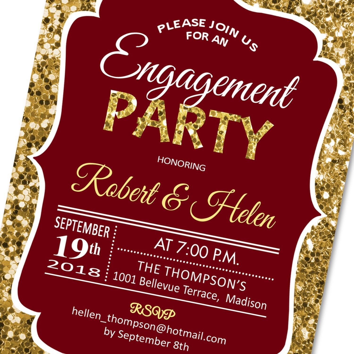 Magnificent Engagement Party Invites Cheap Adornment - Invitations ...