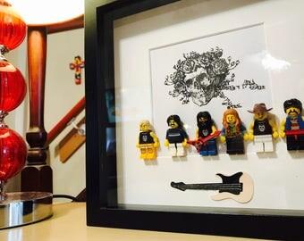 The Grateful Dead Gift - Lego Frame.