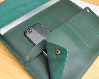 Leather macbook sleeve macbook case macbook cover new macbook pro sleeve macbook air case macbook 13inch case macbook 12inch case sleeve-086