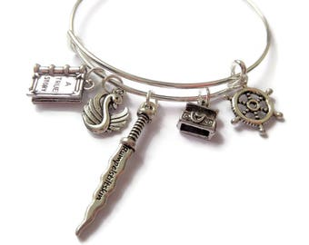 emma swan gift, fan gift, tv show, once upon a time bracelet, once upon a time, ouat jewellery, ouat jewelery, storybrooke bracelet