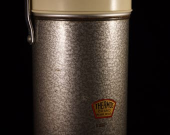 Vintage 1970's thermos flask (COL 004)