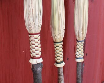 Cobweb Broom with Maple Handle