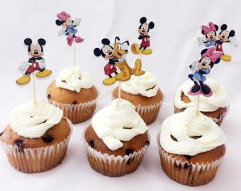 Mickey MouseCake Cupcake Decorative Cupcake Picks Cake Toppers Cupcake Toppers Birthday & Party Supplies