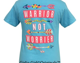 Girlie Girl Originals Warrior Sky Blue Short Sleeve T-Shirt