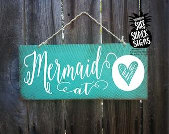 mermaid, mermaid at heart, mermaid decoration, mermaid wall art, mermaid wall decor, mermaid sign, mermaid wall art, mermaid home decor, 323