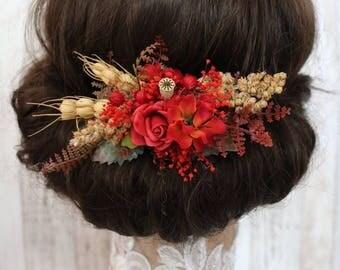Hair clip - Autumn