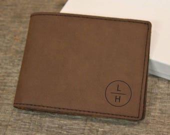 Wallet, Men's Wallet, Leather wallet, Personalized Wallet, Monogram, Men's leather wallet