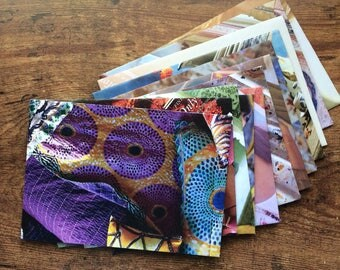 Happy-Earth Mail - One Dozen (12) Upcycled Envelopes