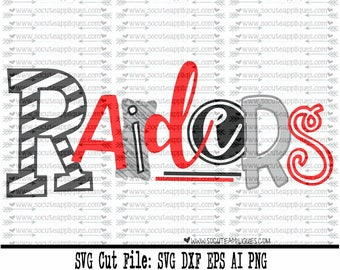 Raiders SVG, Cut file, Cheer svg, School spirit, socuteappliques, SvG Sayings, football svg, football sister svg, football mom svg