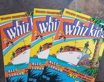 Lot of 3 Whiz Kids Comic Books