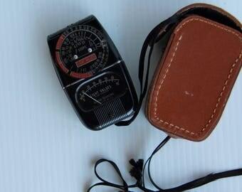 General Electric Exposure Meter Model 8058YI Vintage 1950s