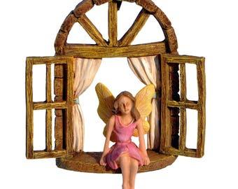 Fairy Garden  - Window Seat - Miniature