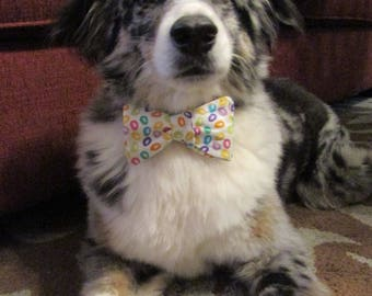 Dog Bow Tie Adjustable Easter Jelly Beans