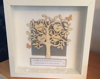 Tree of Life Personalised family frame