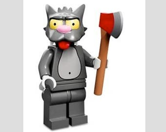 Lego Scratchy  Minifig Magnet or Push Pin/Thumb Tack Your Choice