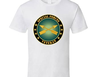 Army - Special Forces Veteran - Br T Shirt