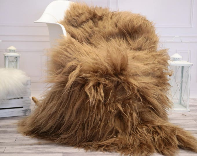 Icelandic Large Sheepskin   Real Sheepskin Rug   Blonde Sheepskin Rug   Fur Rug    Home decor #JANISL31