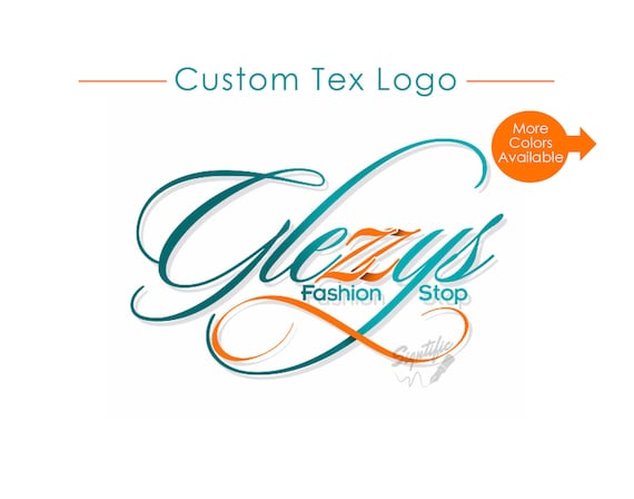 Custom Text Logo, Website Logo, Logo Custom, Logo, Logos, Boutique Logo, Fashion Logo, Business Logo, Graphic Design, Swirly Logo Design