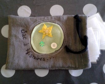 And presto! A little ' little bag stories: A magic bag for inventing stories
