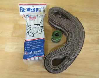Lawn Chair Re-Web Kit US Leisure