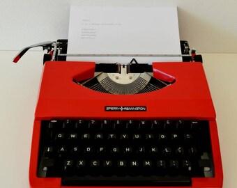 Sperry Remington typewriter