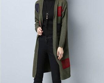 Elegant sweater coat | Etsy