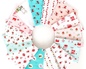 The Simple Life , Little Red Riding Hood & Country Girls mixed fat quarter bundle by Tasha Noel for Riley Blake OOP HTF