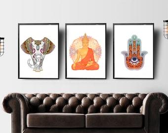 Buddha Wall Art Buddha Wall Art  Etsy