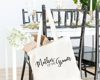 Mother of the Groom Tote, Wedding Party gift, Mother of the Groom, wedding welcome bag, wedding tote, Mother of the groom gift, wedding gift