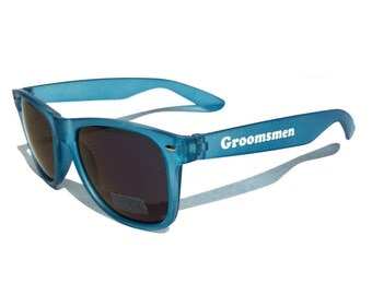 Custom Sunglasses Bachelor Party Personalized Wedding Favors Beach