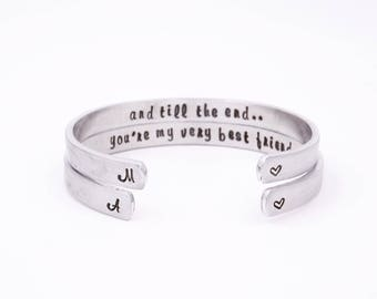 Bestfriend gift - Matching bestfriend bracelet - Bestfriend Xmas - Bestfriend Christmas - Gift for bestfriend - Bestfriend bracelet - BFF