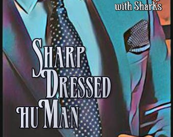 Sharp Dressed huMan w/ Swimming with Sharks - Pheromone Enhanced Fragrance for Men and Women - Love Potion Perfumes - Pherotine 2018