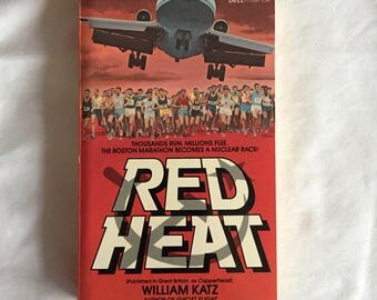 RED HEAT (Paperback Novel by William Katz)
