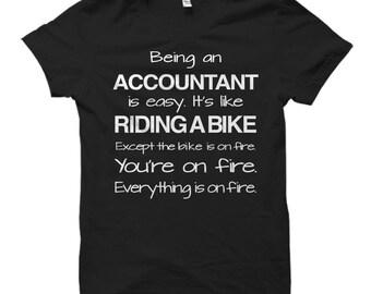 Funny Accountant Gift, Accountant Shirts, Accountant Gifts, Gift for Accountant, Tax Season Shirt, Tax Season Survivor, Taxes Shirt #OS448