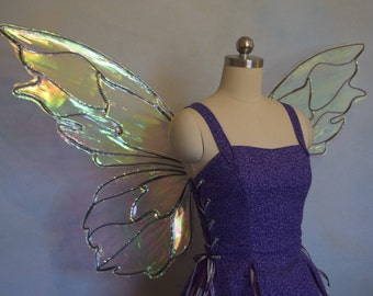 READY TO SHIP Medium/Large Nymph Fairy Wings